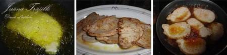 Lomo con cebolla caramelizada al oporto