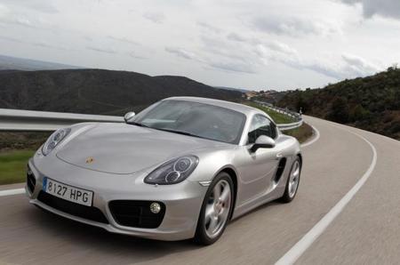 Porsche Cayman S en curva