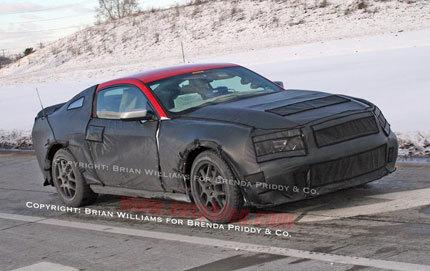 La nueva generación del Ford Mustang, espiada de nuevo