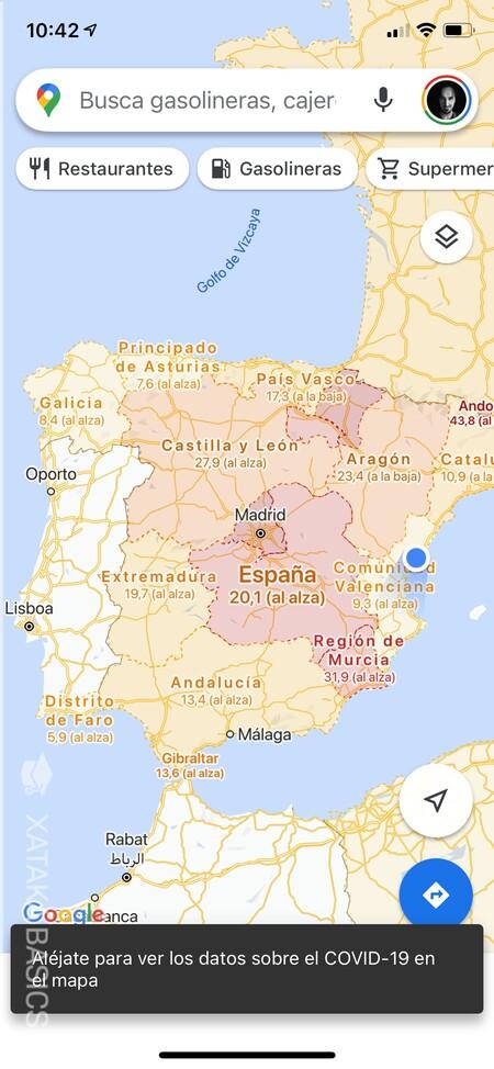 Datos Covid Espana