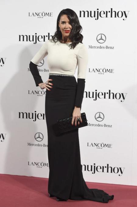 Vania Millán en los Premios Mujer Hoy 2014