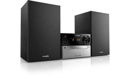 Philips MCM2300/12, una microcadena económica, aúnmás económica esta semana, en Mediamarkt, por sólo 69 euros