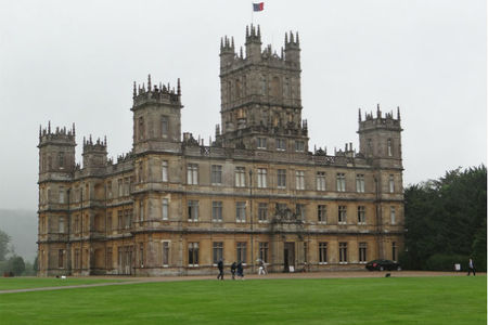 La casita de jengibre de Downton Abbey