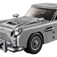 Este Aston Martin DB5 de James Bond es de LEGO y tiene hasta un asiento eyectable funcional
