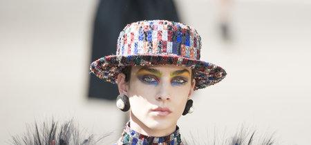 El maquillaje visto en Chanel Alta Costura es, sencillamente, maravilloso