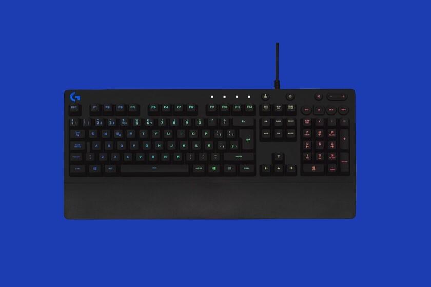 Este teclado gaming de Logitech es de los más vendidos de Amazon y ahora puedes hacerte con él a mitad de precio: 41,99 euros