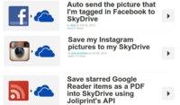 SkyDrive llega a IFTTT, con más oportunidades para aprovechar nuestro espacio online