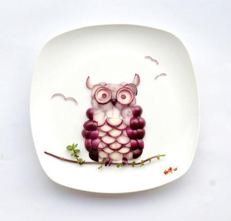 Hong Yi y sus deliciosas obras de arte creadas con comida