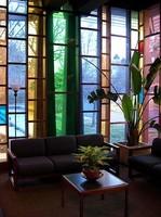 """""""Cristal colors"""" en un edificio insigne"""