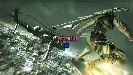 Ninja Blade y el QTE
