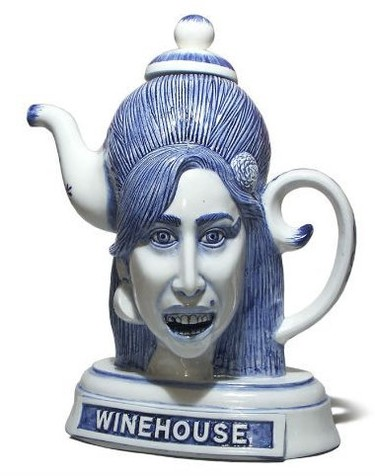 Una tetera inspirada en Amy Winehouse