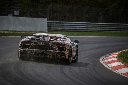 Record Lamborghini Aventador Svj En Nurburgring 8
