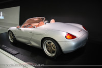 Horrendo prototipo del Porsche Boxster