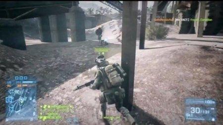 'Battlefield 3'. Curioso glitch que cambia la cámara a tercera persona