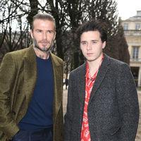 Siete veces en las que Brooklyn Beckham fue un reflejo fiel (de estilo) de su padre David