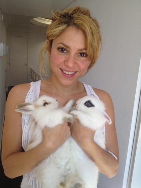 Los famosos celebran la Pascua, entre huevos y conejos