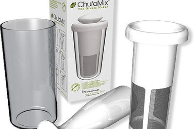 Chufamix, el utensilio para hacer horchata casera en 5 minutos