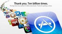 Apple llega a 10.000.000.000 de apps bajados