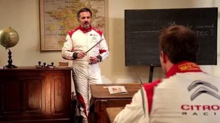 Sébastien Loeb recibe clases de su nuevo maestro