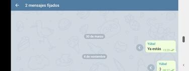 Cómo fijar mensajes en Telegram