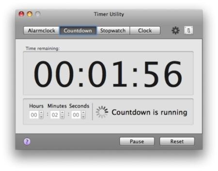 Timer Utility, otra buena utilidad de alarmas y cronómetros