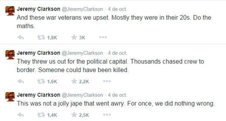 Jeremy Clarkson en Twitter
