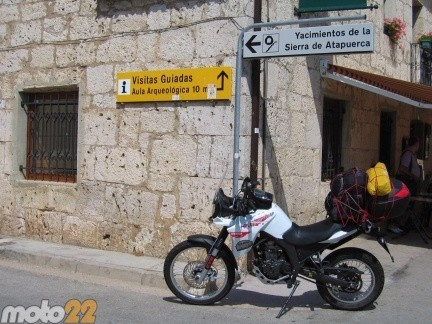 Derbi Terra Adventure 125 Barbastro-Fromista