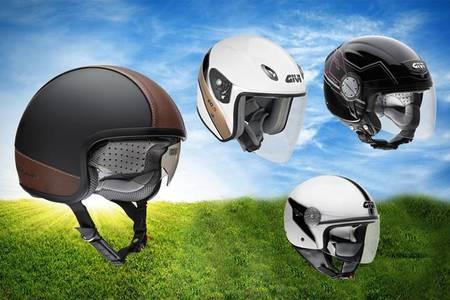 El GIVI 20.5 y GIVI 10.7 se presentan para completar la gama de cascos de verano