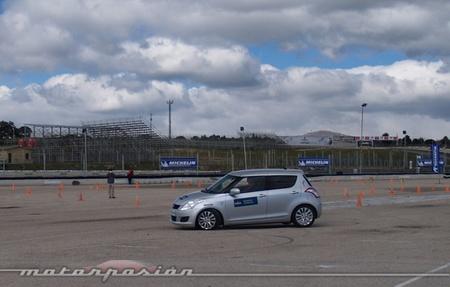 Michelin, Circuito del Jarama, Neumáticos nuevos y neumáticos desgastados a prueba 05