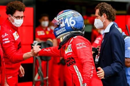 Leclerc Monaco F1 2021 2