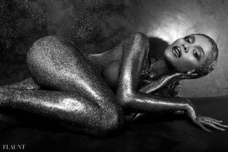 Beyonce Knowles Flaunt portada desnuda