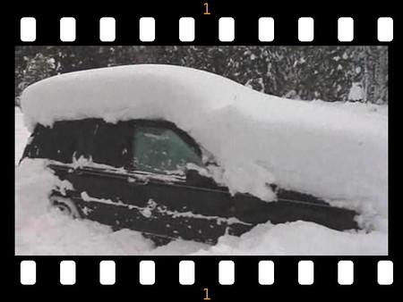 Hay gente con mucha suerte edición XXXIX: sueco sobrevive enterrado en la nieve dos meses dentro del coche