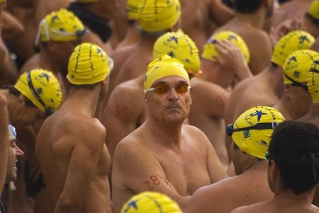 Padre nadador