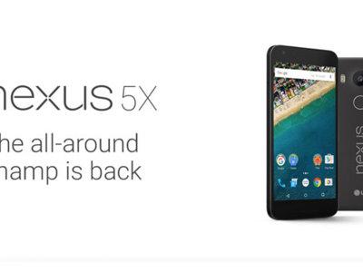 Se filtran las especificaciones completas y las imágenes de la Google Store del Nexus 5X