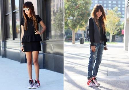 zapatillas nike con plataforma mujer