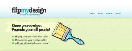 FlipMyDesign, muestra el antes y después del rediseño de tu sitio web