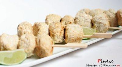 Receta de albóndigas indias de pollo picantes