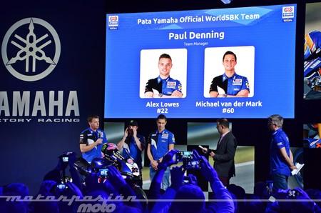 Ofensiva azul: así ha sido la presentación de Yamaha Racing en Italia