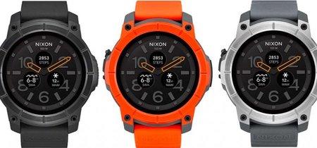 Mission, el nuevo smartwatch con Android Wear de Nixon