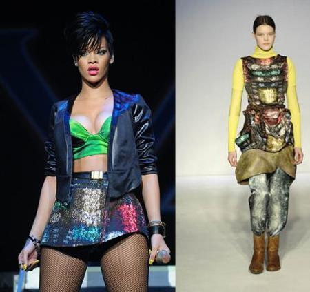 Rihanna sigue apostando por Peter Pilotto