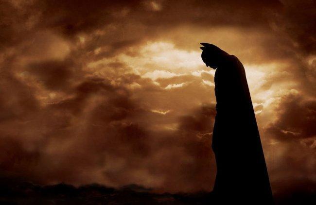 Imagen con el cartel de 'Batman Begins'