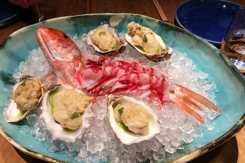 Umiko: ostras en tempura, 'nigiris' de paella y otras locuras de este genial restaurante