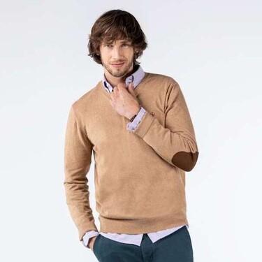 El Ganso trae de regreso el estilo preppy del jersey con coderas para el otoño