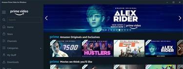 Amazon Prime Video ya tiene aplicación para Windows 10: así luce y esto permite