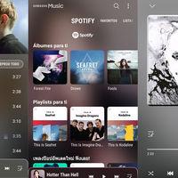 Samsung Music estrena nuevo diseño e integración con Spotify