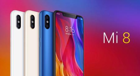 Xiaomi Mi8 de 128GB, con 6GB de RAM, por sólo 351 euros con este cupón de descuento