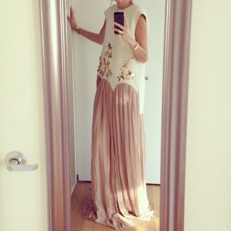 leandra medine delpozo vestido