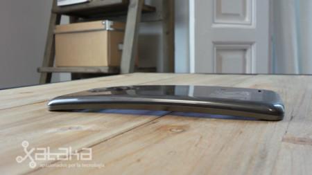 LG G flex curvatura