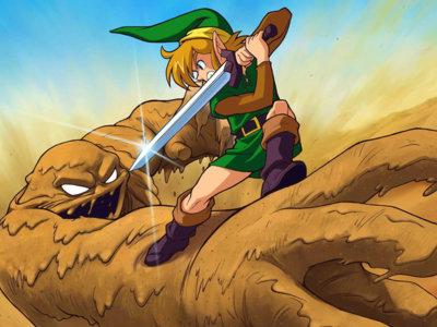 Un speedrunner de The Legend of Zelda: A Link to the Past logra completar el juego con los ojos vendados