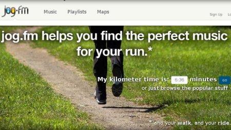 Jog.fm: encuentra la mejor música para entrenar